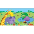 Jungle Buddies Party Tablecover